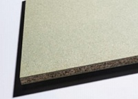 Water resistance particle boards