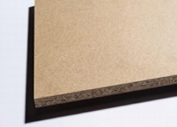 Wood particle boards