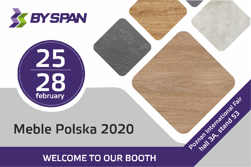 Meble Polska 2020 - welcome to booth of BYSPAN